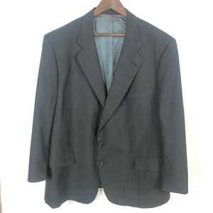 Jos A Bank 2 Button 1 Vent USA Wool Sport Coat 50R